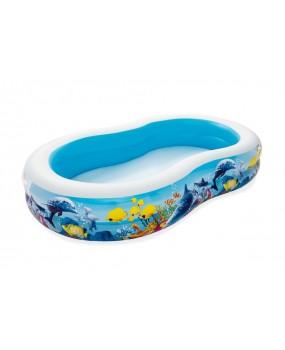 Detský nafukovací bazén morská hlbina 262 x 157 x 46 cm